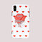 Женщина Red Rose TPU Soft Shell Phone Чехол Для iPhone