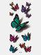 40 piezas 3D estéreo Impermeable tatuajes pegatinas escorpión flor transferencia de agua tatuaje pegatinas - 28