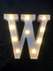 LED English Letter And Symbol Pattern Night Light Home Room Proposal Decor Creative Modeling Lights For Bedroom Birthday Party - #23