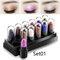 Mini Eyeshadow Stick Set Shimmer Glitter Eye Shadow Cream Set 12 Pcs Lasting Eyeshadow - 01