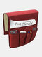 Anti-Rutsch-Sofa Stuhl Armlehne 5 Pocket Organizer Couch Fernbedienung Aufbewahrungstasche Magazin Kleinigkeiten Aufbewahrung Taschen - rot