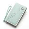Sacs de rangement universels pour cartes de téléphone PU Long portefeuille sac à main pour Xiaomi Huawei Samsung iPhone 7 - vert