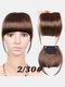 Air Bangs Wig Piece Chemical Fiber No-Trace Seamless Bangs Hair Extensions - #03