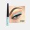 Matte Liquid Eyeliner Quick Dry Wasserdichter Eyeliner Bleistift Braun Lila Farbe Eyeliner Kosmetisches Make-up-Werkzeug - 02