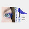 3D Colorful Mascara Long Curling Thick Silky Waterproof Lasting Eyelash Extension Beauty Makeup - Blue