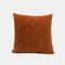 Couleur unie oreiller coussin salon canapé coussin plaine moderne minimaliste chevet taille taie d'oreiller - Orange