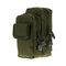 Herren Outdoor Sports Tactical Pockets Lässiger tragbarer Gürtel Nylon Taschen