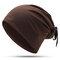Женский тюрбан с бантом Шапка Streamer Casual Wild Pearl Warm Шапка На открытом воздухе Windproof Cotton Шапка - #05