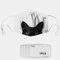 Cat Pattern Polyester Fashion Dustproof Mask With 7 Mask Gaskets - #04