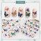 DIY Manicure Nail Sticker 3D Waterproof Butterfly Fruit Laser Nail Applique Decoration - 1