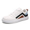 Mens Color blocking Splicing Comfy Low Top Casual Trainers Shoes  - white1