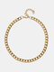 Simple Adjustable Thick Chain Women Necklace - N2320