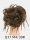 41 Colors Chicken Tail Hair Ring Messy Fluffy Rubber Band Curly Hair Bag Wig - 33