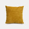 Nordic Solid Color Pillow Texture Striped Sofa Bedside Cushion Living Room Pillowcase - Yellow