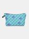 Multifunctional Portable Makeup Bag Fish Scale Women Travel Wash Storage Bag - #03