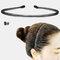 スポーツスタイル男性女性ヘッドバンドヘアピンフェイスウォッシュバックプレッシャーヘアノンハートヘアヘアアクセサリー - 9