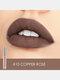 10 Farben Velvet Matte Lip Glaze Wasserdichte, nicht markierende Lipgloss-Kosmetik - #10