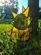 1PC Acrylic Koroks Family Zelda Game-theme Leaf Fairy Insert Card For Garden Decor Game Lovers - #01