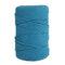1Pc 200 mx4mm Colore Cotone Corda Filo di cotone Intrecciare la corda Mano FAI DA TE Decorativo Corda Arazzo Corda di tessitura - blu