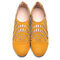 Big Size Women Casual Comfy Breathable Hollow Out Pointed Toe Zipper Flat Shoes