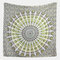 Printed Hanging Tapestry Indian Hippie Bohemian Psychedelic Peacock Mandala Wall Hanging - #3