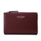 PU Leather 19 Card Slot Holder Hasp Long Purse Clutches Bags - Wine Red