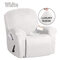 <US Instock> Waterproof Non Slip Suede Stretch Recliner Slipcover Soft Sofa Arm Chair Cover - #01
