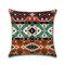 <US Instock> Mandala Indian Bohemian Cotton Linen Cushion Cover Home Decor Square Pillowcase - #02