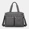 Large-Capacity Shoppping Bag  Multi-Portable Shoppping Bag Lightweight Shopping Bag Mummy's  Shoppping Bag - Grey