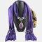 Bohemian Dacron Multi-layer Necklace Handmade Teardrop Pendant Tassel Women Scarf Shawl Necklace - 02