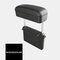 Car Charging Armrest Box Pad Automatic Telescopic Storage Box Central Control Elbow Support Holder - Black