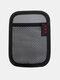 Multifunctional Vehicle Mobile Phone Storage Net Pocket Sticky Car Seat Back Portable Car Storage Bag - #09