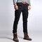 Men's Cargo Pants Multi Pockets Outdoor Camo Casual Pants - Black