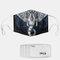 Elephant Pattern Polyester Fashion Dustproof Mask With 7 Mask Gaskets - #02