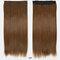 26 цветов длинные прямые Волосы удлинители 5 зажимов ложные Волосы шт. Высокотемпературное волокно Парик - 07