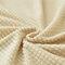الشتاء رشاقته دنة الصوف القطبي سوبر مرونة تمتد غطاء أريكة الغلاف الأريكة غرفة المعيشة - الأصفر