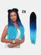 22 цвета цветная грязная коса Спираль длинная Волосы конский хвостик маленькая весна кудрявая Парик - #15