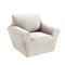 1/2/3 seaters Elastic Universal Sofa Cover Knitted Thicken Stretch Slipcovers for Living Room Couch Cover Armchair Cover - Beige