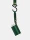 EDC 60 ML Disinfectant Holster Pendant Outdoor Epidemic Prevention Useful Cosmetic Bottle Case - Green