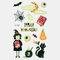 Halloween Luminous Tattoo Children Cartoon Stickers Body Art Waterproof Fake Temporary Tattoo Transfer Paper - 14