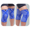1 Piece Mens Knee Protector High Elasticity Breathable Nylon Knee Pads Basketball Sport Knee Support - Blue