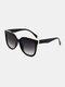 ユニセックスフルフレームアウトドアUVプロテクションファッションサングラス - ブラック