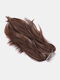Cola de caballo de 10 colores Cabello Extensiones Fibra de alta temperatura Soft Recta Peluca - #02