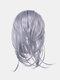 8 цветов Нерегулярный хвостик клипса Волосы Удлинения короткие вьющиеся Парик шт. - #07