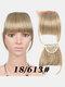 Air Bangs Wig Piece Chemical Fiber No-Trace Seamless Bangs Hair Extensions - #06