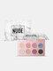 12 Colors Matte Eyeshadow Palette Earth Color Nude MakeupLong-Lasting Eyeshadow - #01