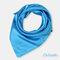 Square Plain Scarf Silk Headband Small Neckerchief Head Neck Lady Women Scarves - Light Blue 1