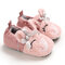 Baby Girls Boys Toddler Shoes Cute Plush Soft Sole Anti-Slip Warm Snow Boots - Pink