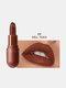 8 Farben Matte Lipstick Lang anhaltendes feuchtigkeitsspendendes, nicht verblassendes Lippen-Make-up - #08