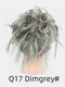 41 Colors Chicken Tail Hair Ring Messy Fluffy Rubber Band Curly Hair Bag Wig - 30